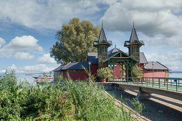 Les bains publics à Keszthely sur Peter Eckert