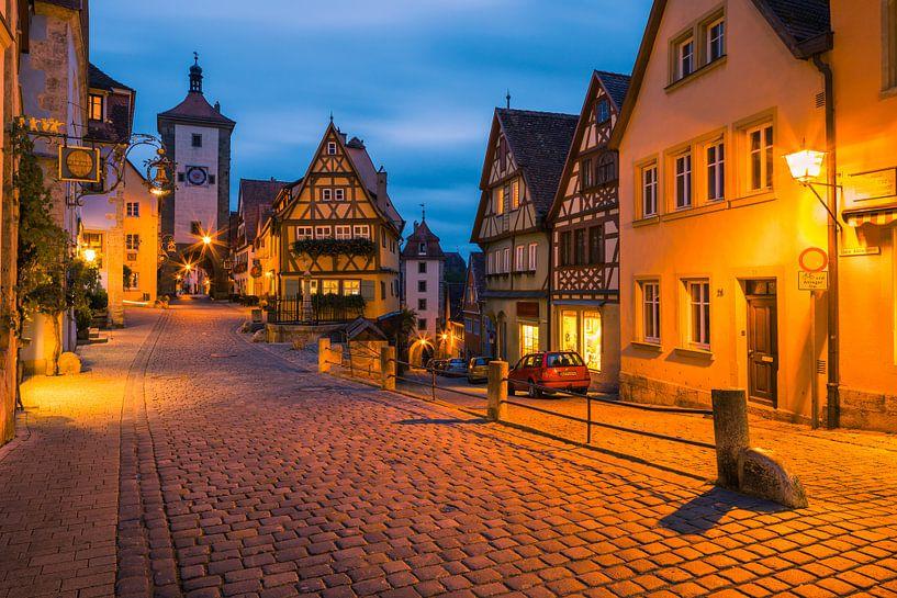 Rothenburg ob der Tauber, Duitsland van Henk Meijer Photography
