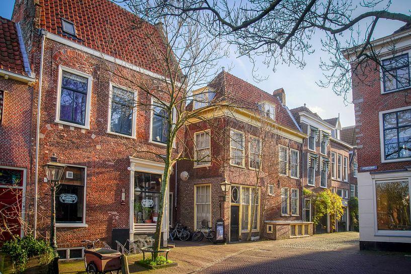 Pieterskerkgracht in Leiden von Dirk van Egmond