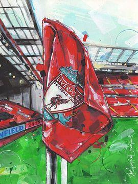 Liverpool FC schilderij van Jos Hoppenbrouwers