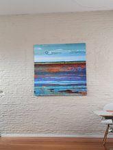 Klantfoto: Terschellinger Wad van Ger Veuger, op canvas