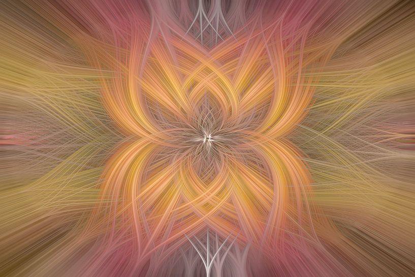 Digital abstract nr 8 van Leo Luijten