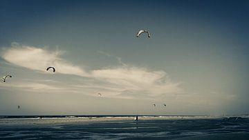 Kitesurfen Strand van Amiran Tchikhinachvili