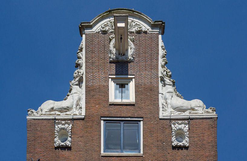 Façade d'Amsterdam sur Jan van Dasler