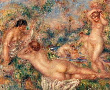 Badende, Pierre-Auguste Renoir (1918) von Atelier Liesjes