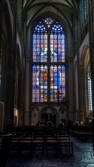Glas in lood, Domkerk Utrecht.