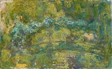 Der Steg über den Seerosenteich, Claude Monet