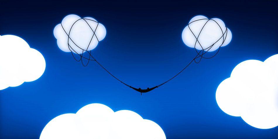 Hangmat tussen de wolken