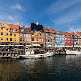 Nyhavn Kopenhagen van Bart van Dinten
