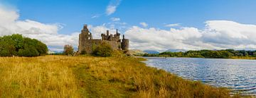 Kilchurn Castle, Loch Awe, Schotland van Gert Hilbink