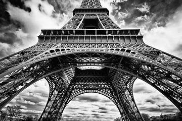 La Tour Eiffel von Nanouk el Gamal - Wijchers (Photonook)