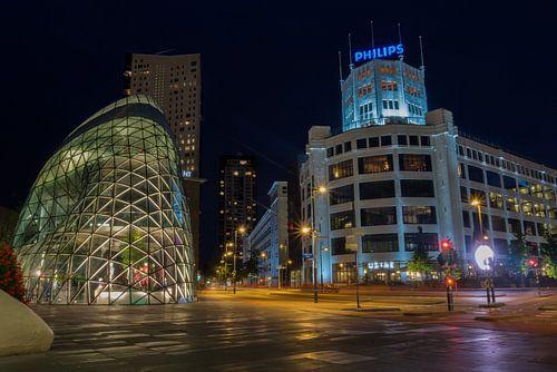 Eindhoven by Night von Thomas van de Vosse