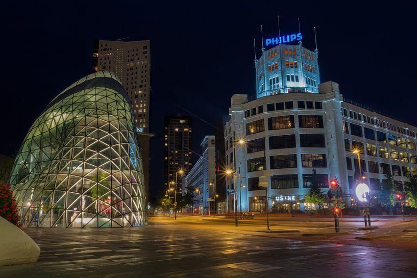 Eindhoven by Night van Thomas van de Vosse