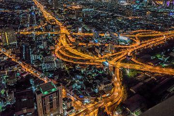 Sky line Bangkok van Mario Calma