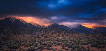 Sierra Nevada Sonnenuntergang von Joris Pannemans - Loris Photography