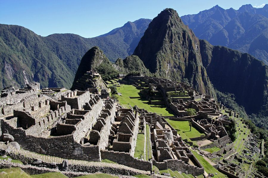 Machu Picchu van Antwan Janssen