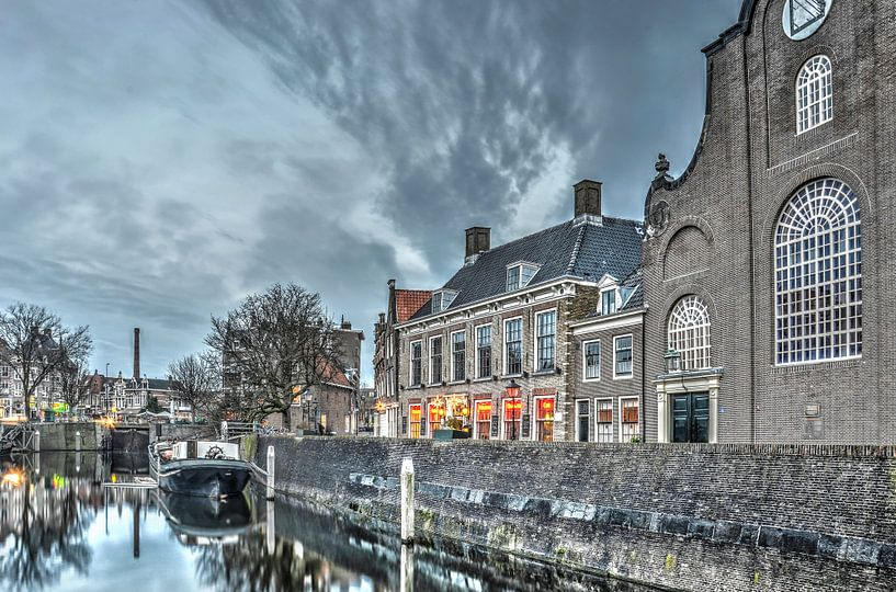 Delfshaven: de kerk en de brouwerij van Frans Blok