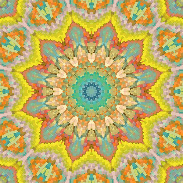 Mandala Style 81 van Marion Tenbergen