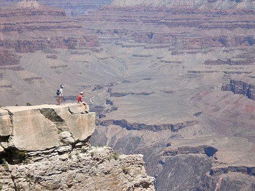 Uitzicht op de Grand Canyon van