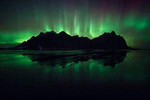 Stokksnes, IJsland van