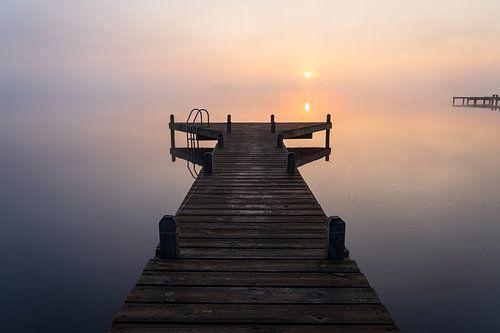 Kalme zonsopkomst