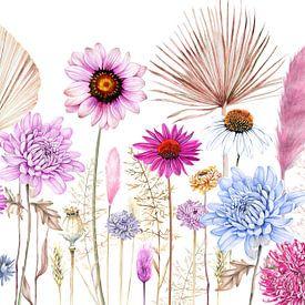 Trockenblumen-Trend von Geertje Burgers