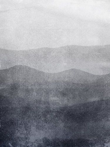 Nebel in den Great Smoky Mountains von Chantal van Antwerpen