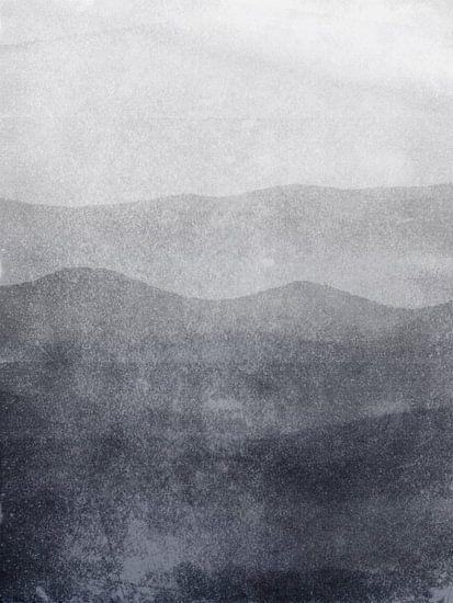 Mist in de Great Smoky Mountains van Chantal Kielman