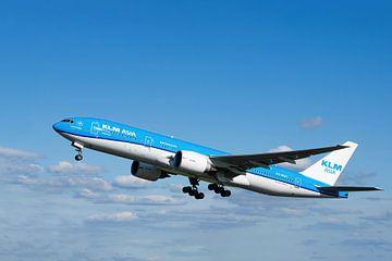 KLM PH PQH Boeing 777-206ER, De Muur van Hadrianus van Gert Hilbink