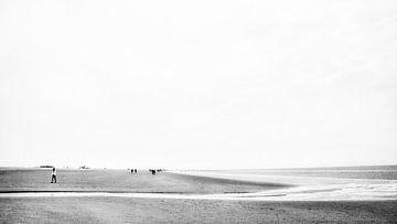 Ein Priel an der Nordsee von Heiko Westphalen
