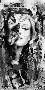 Marilyn Monroe & Katze
