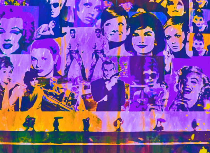 Allstars Pop Art PUR van Felix von Altersheim