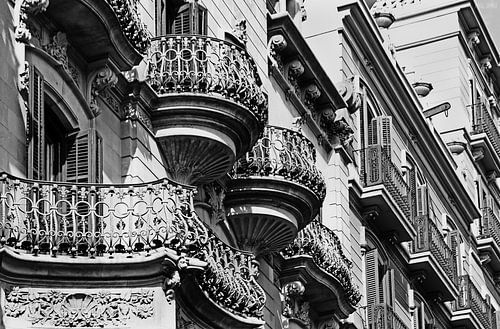 [barcelona] - ... balconies van Meleah Fotografie