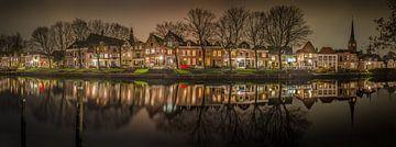 Weesp Hoogstraat panorama - Weesp in Beeld von Joris van Kesteren