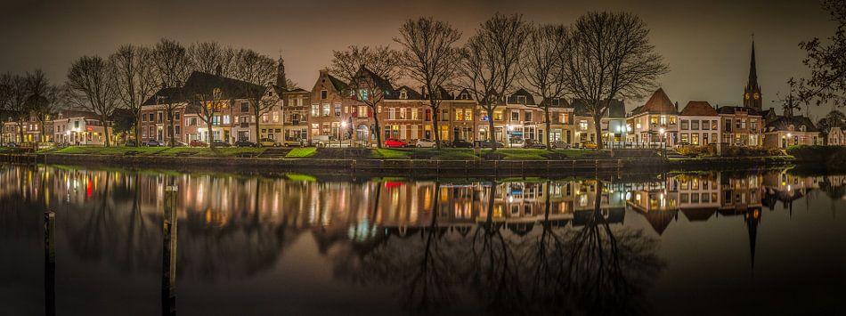 Weesp Hoogstraat panorama - Weesp in Beeld
