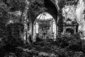 Überwachsene Kirche 2 von Kirsten Scholten