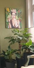 Klantfoto: Frida con amigos van Nettsch ., op canvas