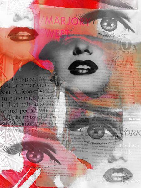 Eyes and lips von Gabi Hampe