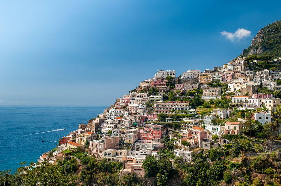 Positano aan de Amalfi kust