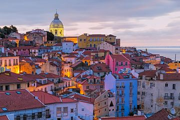 Alfama, Lissabon van Rob van Esch