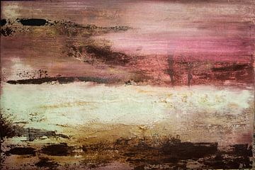 Roter Himmel 02 von Willie Roosenbrand Art