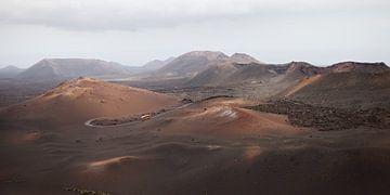 uitzicht Timanfaya Nationaal Park - Vuurbergen von Ramona Stravers