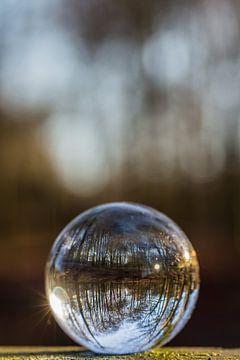 Door een glazen bal #3 van Robert Wiggers