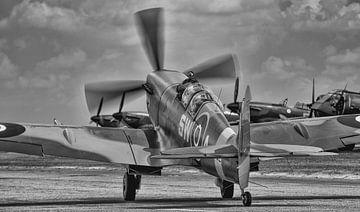 Supermarine Spitfire, taxiend van Photobywim Willem Woudenberg