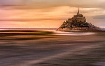 Mont Saint Michel von Marcel van der Stroom