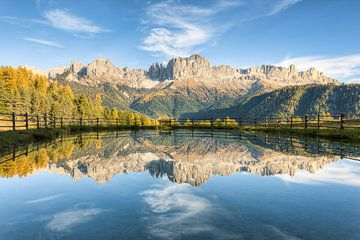 Rosengarten Südtirol von Michael Valjak