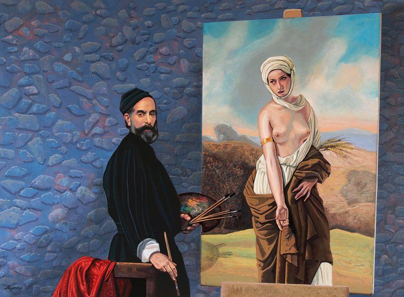 Francesco Hayez Schilderij van Paul Meijering