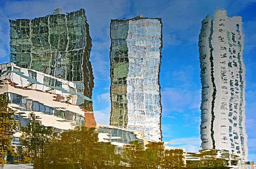 Spiegelbeeld Scheepmakershaven, Rotterdam
