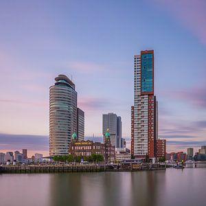 Rotterdam Skyline - Wilhelminapier - 6