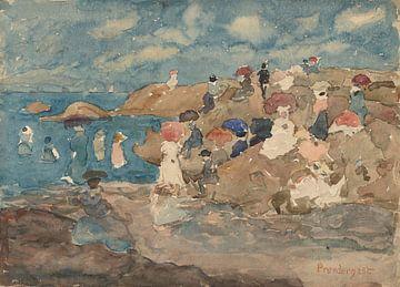Maurice Prendergast-Revere Beach